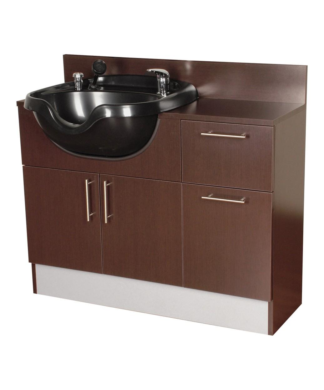 collins qse 4428 42 neo shampoo cabinet w cb23 bowl