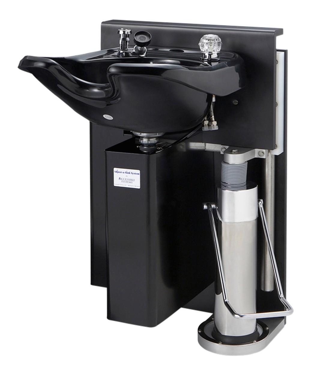 adjust a sink k100 hydraulic shampoo unit