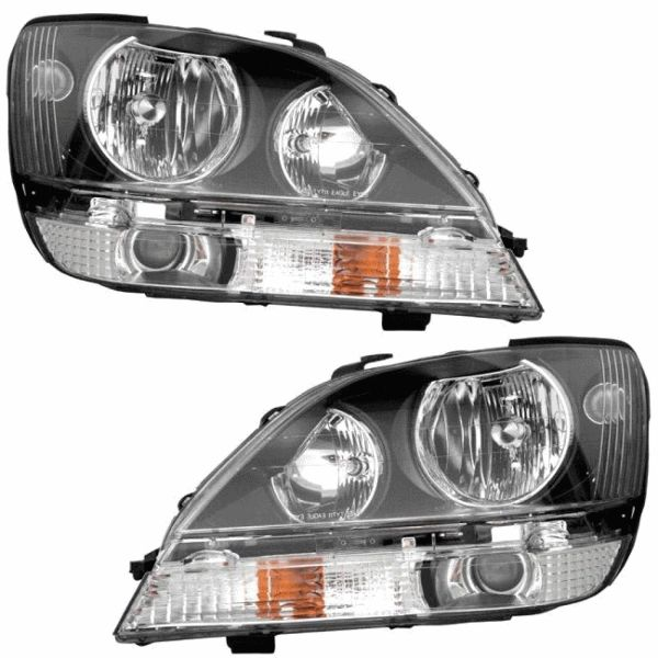 Coachmen Cross Country SportsCoach Replacement Headlights Assembly Pair (Left & Right)