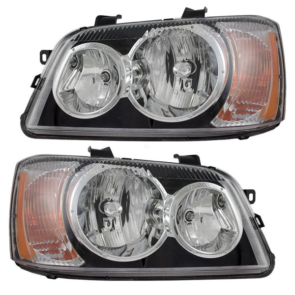 Itasca Suncruiser Replacement Headlight Assembly Pair (Left & Right)