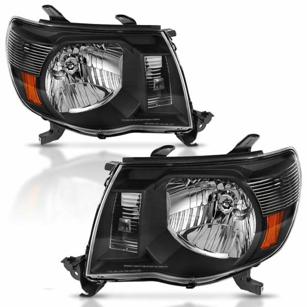 Four Winds Serrano Performance Black Headlights Unit Pair (Left & Right)