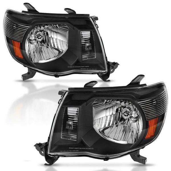 Thor Motor Coach Serrano Performance Black Headlights Unit Pair (Left & Right)
