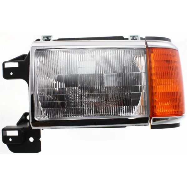Fleetwood Discovery Left (Driver) Replacement Headlight & Corner Light Assembly