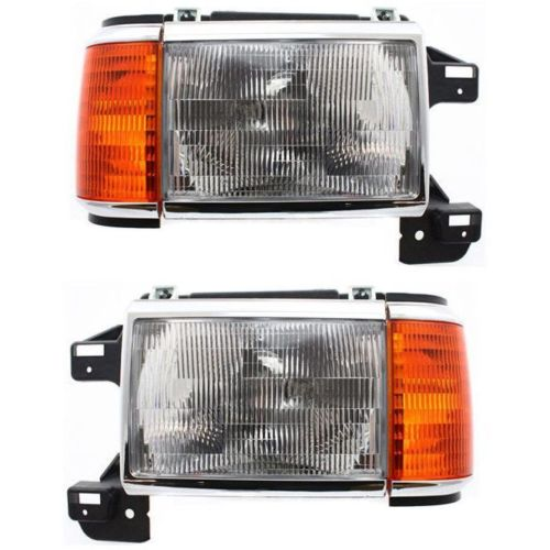 Country Coach Allure Replacement Headlight & Corner Light Assembly Pair (Left & Right)