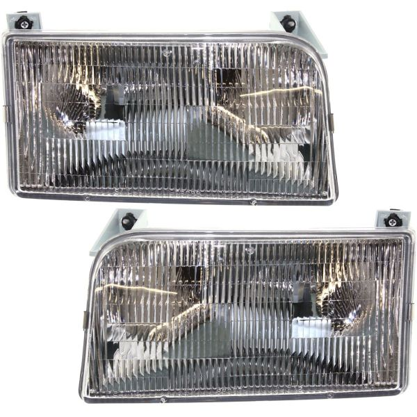 Tiffin Allegro (35ft) Headlight Assembly Pair (Left & Right)