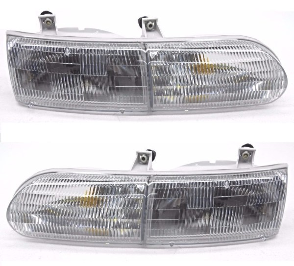 Gulf Stream Sun Voyager Replacement Headlight Unit Pair (Left & Right)