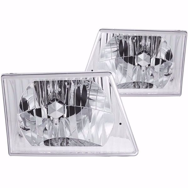 Winnebago Chalet (Class C) Diamond Clear Headlights unit Pair (Left & Right)