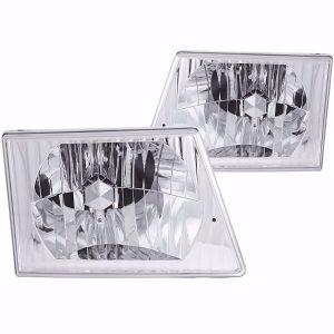 Four Winds Windsport Diamond Clear Headlights unit Pair (Left & Right)