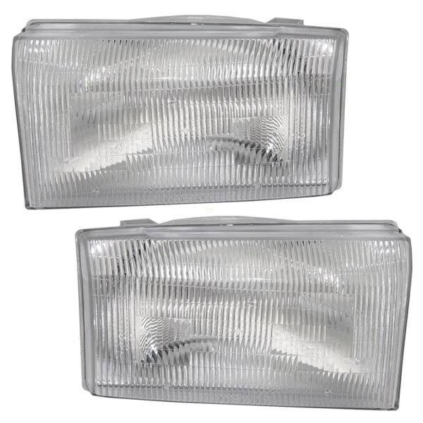 Tiffin Zephyr Replacement Headlight Assembly Pair (Left & Right)