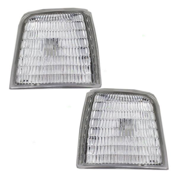 Rexhall Aerbus Corner Side Marker Lamps Unit Pair (Left & Right)