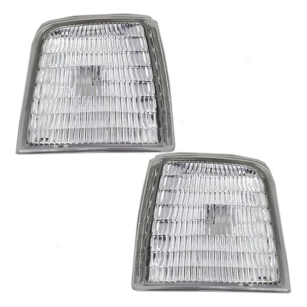 Tiffin Allegro Bus Corner Side Marker Lamps Unit Pair (Left & Right)
