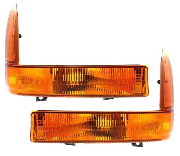 Tiffin Zephyr Corner Turn Signal Lamps Unit Pair (Left & Right)