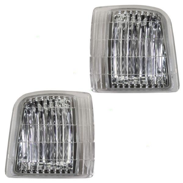 Fleetwood Pace Arrow (35R) Corner Side Marker Lamps Unit Pair (Left & Right)