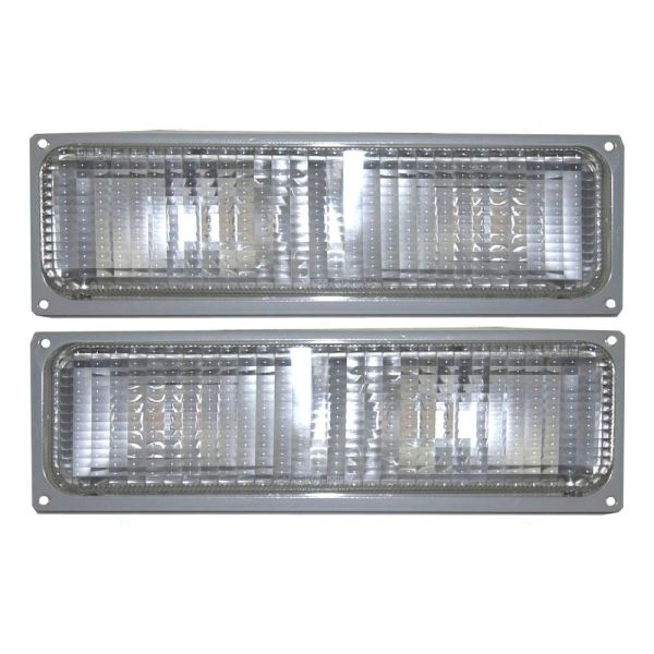 Monaco Dynasty Replacement Turn Signal Light Lens & Housing Pair (Left & Right)