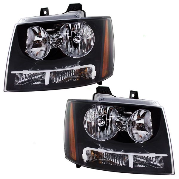 Fourwinds Mandalay Replacement Headlight Head Lamp Assembly Pair (Left & Right)