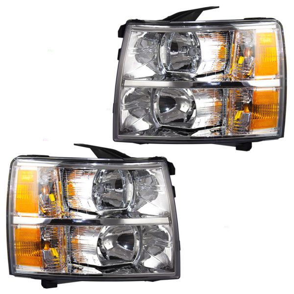 Thor Motor Coach Outlaw Replacement Headlights Assembly Pair (Left & Right)