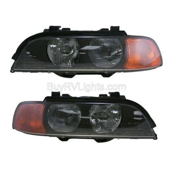 Fleetwood American Tradition Headlight Assembly Pair (Left & Right)