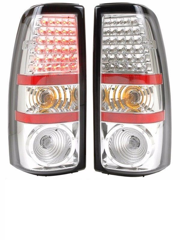 Tiffin Zephyr Chrome LED Upper Tail Light Assembly Pair (Left & Right)
