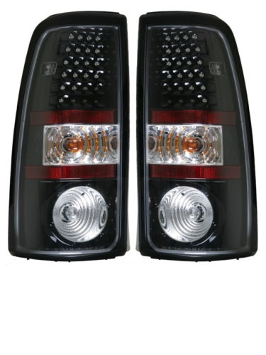 Country Coach Affinity Black LED Tail Light Assembly Pair (Left & Right)