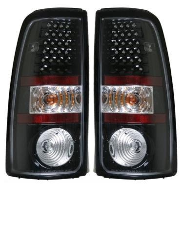 Monaco La Palma Black LED Tail Lights Pair (Left & Right)