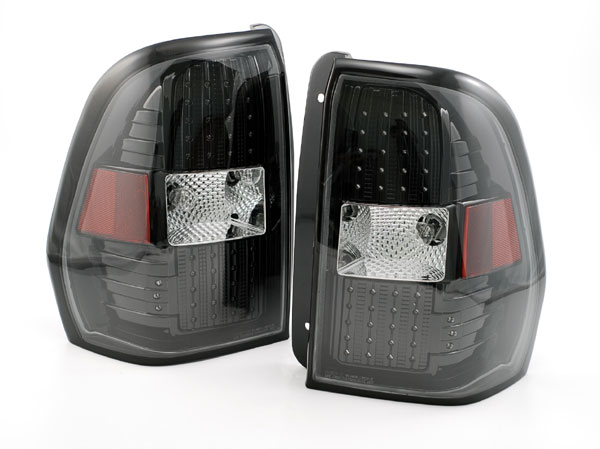 Newmar King Aire Lower Black LED Tail Light Assembly Pair (Left & Right)