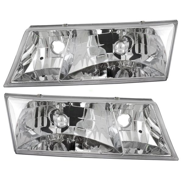 Fleetwood Excursion Replacement Headlight Assembly Pair (Left & Right)
