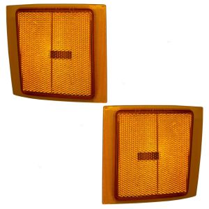 Fleetwood Discovery Replacement Lower Side Marker Light Pair (Left & Right)