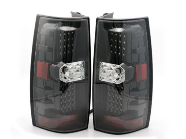 Thor Motor Coach Palazzo Black LED Tail Light Assembly Pair (Left & Right)