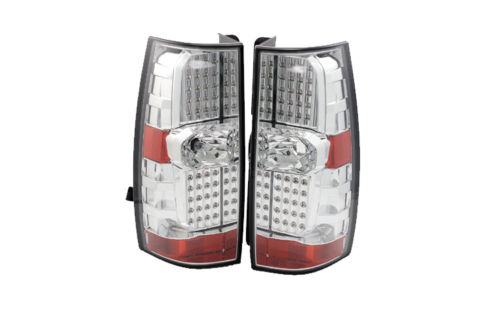 Thor Motor Coach Tuscany Replacement Chrome Taillights Assembly Pair (Left & Right)