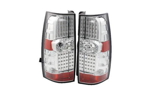Thor Motor Coach Venetian Upper Chrome LED Tail Light Assembly Pair (Left & Right)