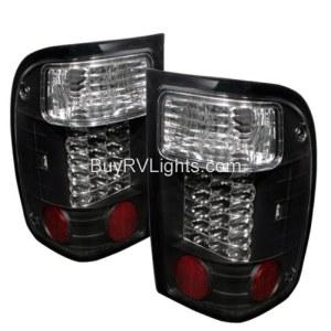 Beaver Motor Coach Santiam Black LED Tail Light Unit Pair (Left & Right)