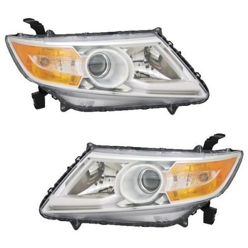Newmar London Aire Replacement Headlights Assembly Pair (Left & Right)