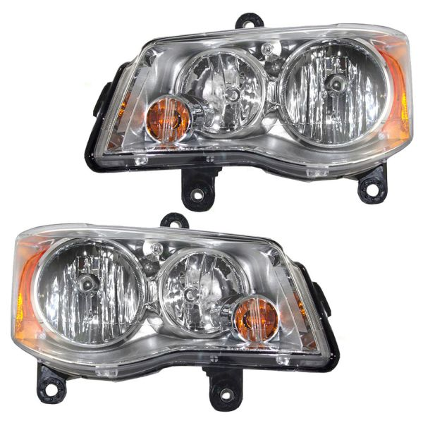 Newmar Dutch Star Replacement Headlights Assembly Pair (Left & Right)