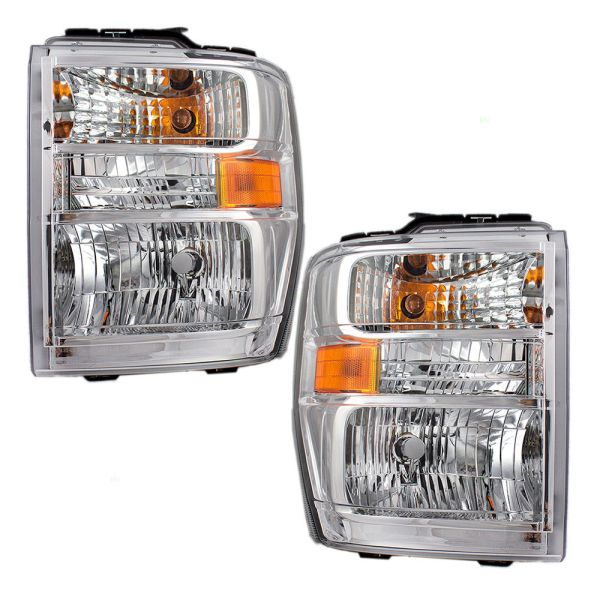 Jayco Redhawk Headlights Unit Pair (Left & Right)