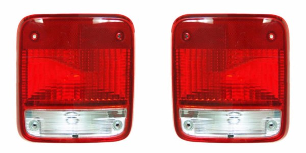 Fleetwood Terra Replacement Tail Light Unit Pair (Left & Right)