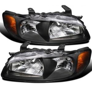 Coachmen Encore Black Headlight Assembly Pair (Left & Right)