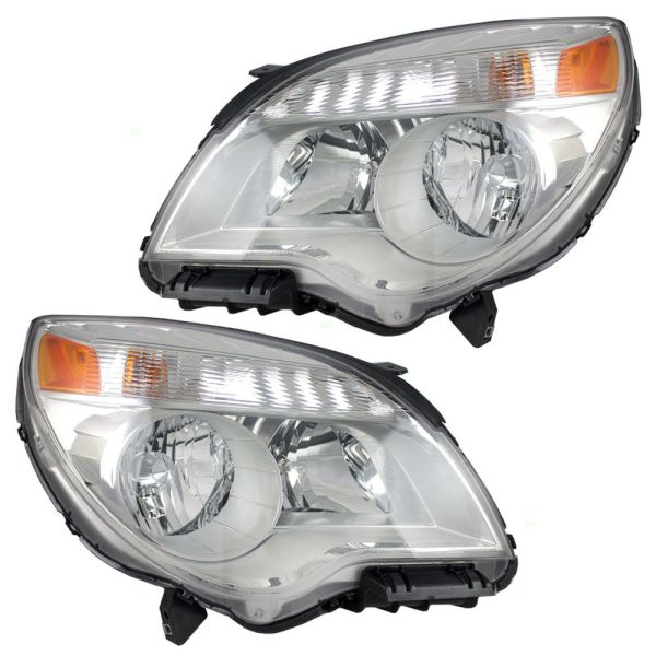 Tiffin Allegro Bus Headlight Assembly Pair (Left & Right)