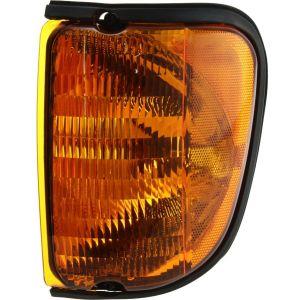 Fleetwood Tioga Left (Driver) Amber Corner Turn Signal Lamp Unit