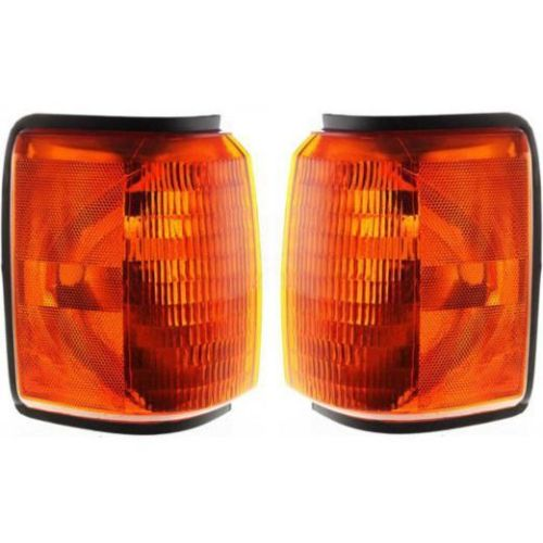 Monaco Monarch Corner Turn Signal Lamps Unit Pair (Left & Right)