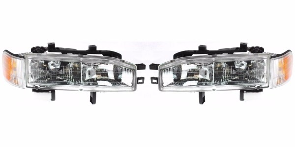 Monaco Knight Replacement Headlight & Corner Light Assembly Pair (Left & Right)