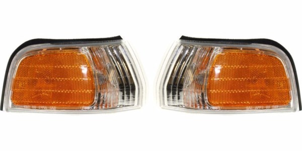 Monaco Knight Corner Turn Signal Lamps Assembly Pair (Left & Right)