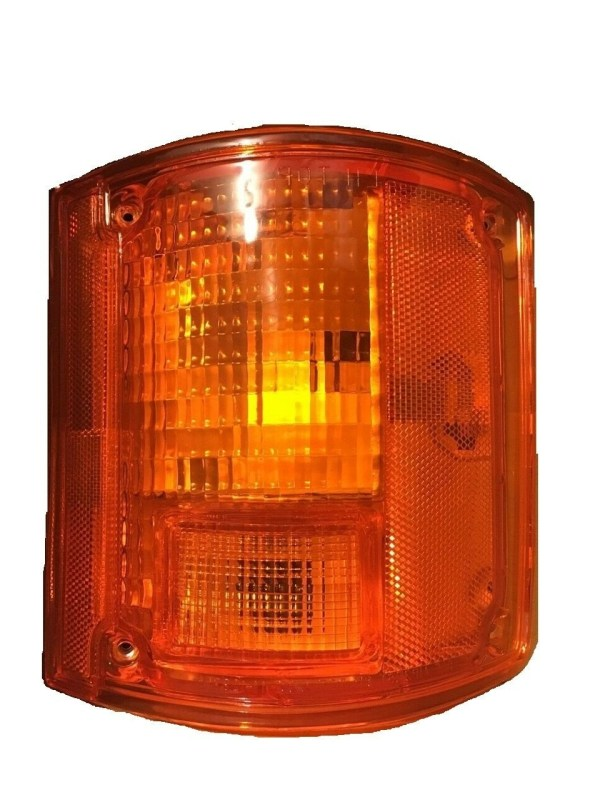 National RV Sea Breeze Right (Passenger) Replacement Rear Turn Signal Light Lens & Housing