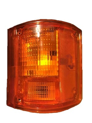 Georgie Boy Pursuit Right (Passenger) Replacement Rear Turn Signal Light Lens & Housing