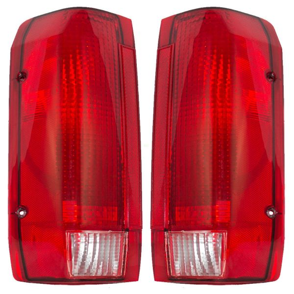 Monaco Executive Lower Replacement Tail Light Unit Pair (Left & Right)