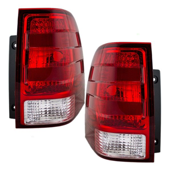 Country Coach Tribute Tail Light Rear Lamp Unit Pair (Left & Right)