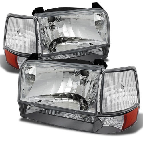 Tiffin Allegro Bus (35ft or Longer) Diamond Clear Headlights