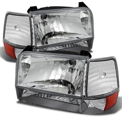 Newmar Kountry Star Diamond Clear Headlights