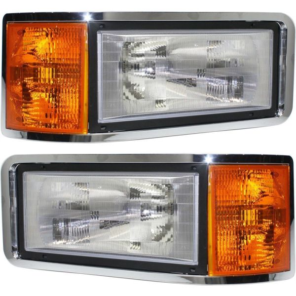 Travel Supreme Replacement Headlight & Corner Light Assembly Pair (Left & Right)