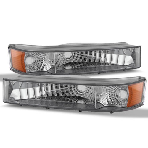 Tiffin Allegro Bus (35ft or Longer) Diamond Clear Turn Signal Lights Lamps (Left & Right)
