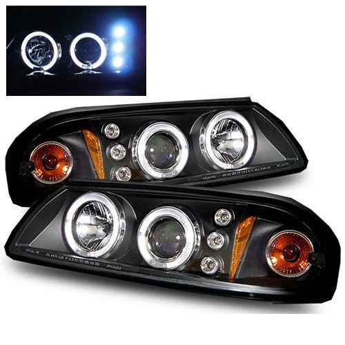 Damon Escaper Black Projector Headlights Unit Pair (Left & Right)